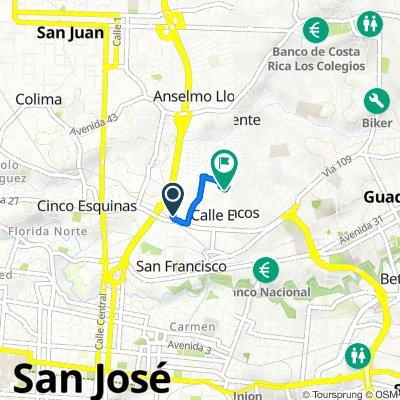 De San José, Calle Blancos a Calle 27 33, Calle Blancos