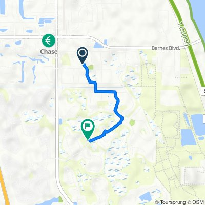 Orion Way 3995, Rockledge to Clubhouse Drive 1700, Rockledge