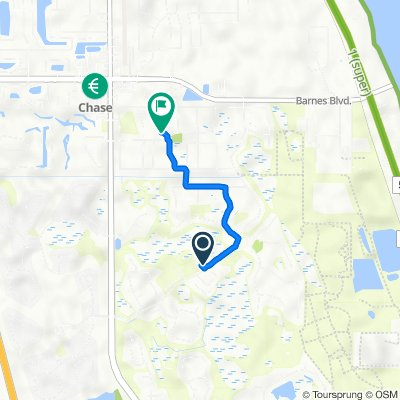 Clubhouse Drive 1600, Rockledge to Orion Way 4005, Rockledge