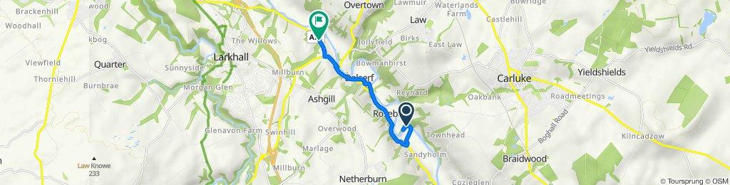 Milton Road to Lanark Road