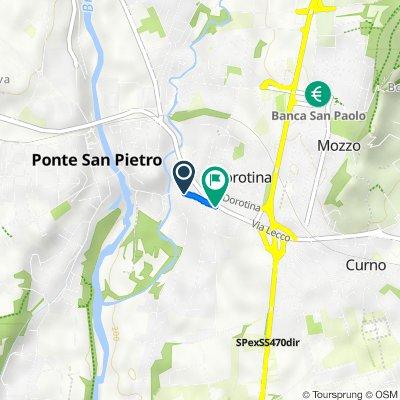 Da Via Merena 9, Mozzo a Via Merena, Mozzo
