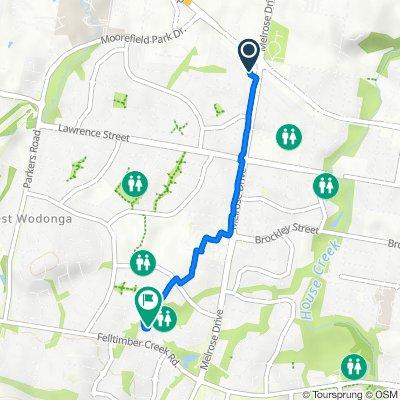 8 Roadshow Drive, West Wodonga to 2 Hibbett Crescent, West Wodonga