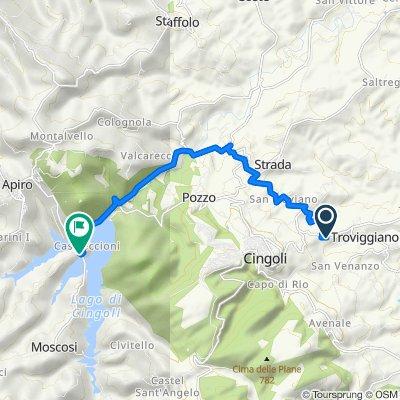Da Località San Valentino 10, Sant'Anastasio a Località Castreccioni, Cingoli