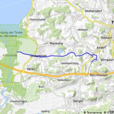 Chiemsee - Anfahrt Vachendorf