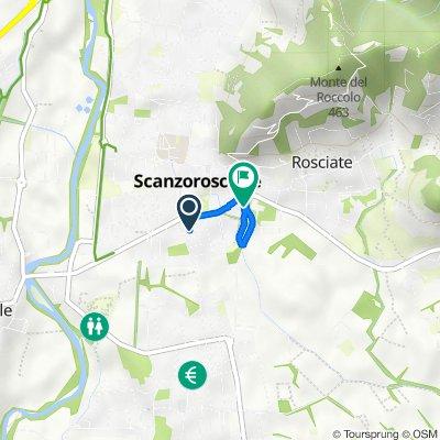 Da Via Trento 17/A, Scanzorosciate a Via Enrico Fermi 3, Scanzorosciate