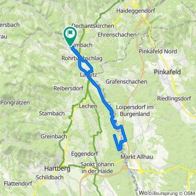 Untere Hauptstraße 315, Rohrbach an der Lafnitz nach Untere Hauptstraße 289, Rohrbach an der Lafnitz