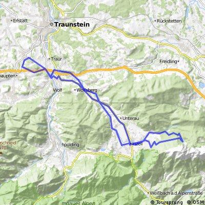 Vachendorf - Inzell - Frillensee - Siegsdorf - Vachendorf