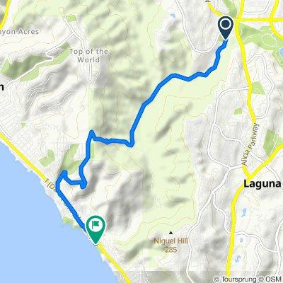 Alicia Parkway 28373, Laguna Niguel to Coast Highway 31151, Laguna Beach