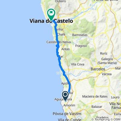 De N13 133, Navais à Rua dos Bombeiros 221, Viana do Castelo