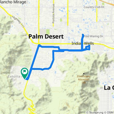 Trailer Ln, Palm Desert to Trailer Ln, Palm Desert