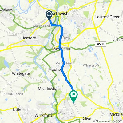 De 5 Wallace St, Northwich a Premier Park, 35 Road 1, Winsford