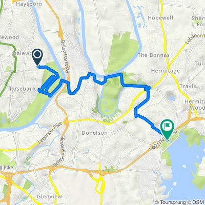 First Day Route