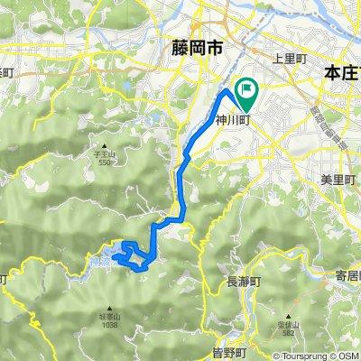 山あり!川あり!ダム湖あり!神川チャレンジルート (神川町ルート)