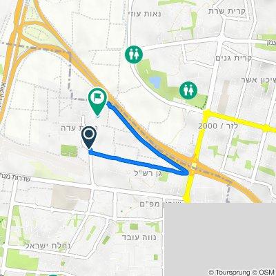 Kanfei Nesherim Street, Herzliya to Magen David Street 119, Herzliya