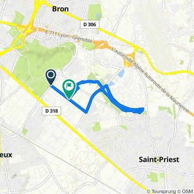Parilly - Saint-Priest