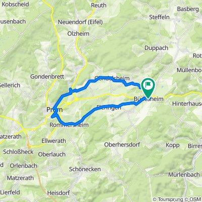 Büdesheim - Prüm - Büdeheim_26 km