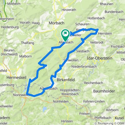 Hunsrück-Hochwald Umrundung