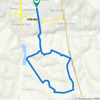 De Avenida dos Inconfidentes, 2806–2912, Uberlândia a Avenida dos Inconfidentes, 2806–2912, Uberlândia