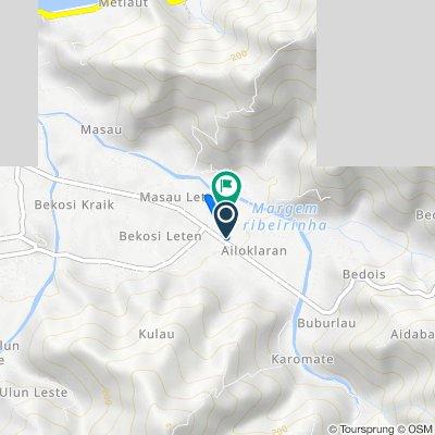 Unnamed Road, Díli to Timor-Leste, Díli