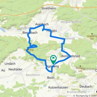 Obernefsried 14, Kutzenhausen nach Obernefsried 14, Kutzenhausen