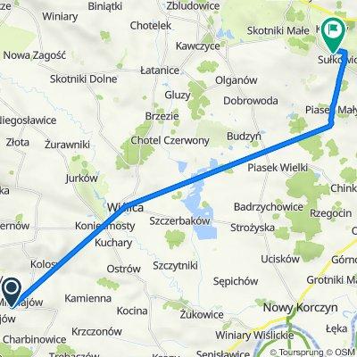Mikołajów 33A, Czarnocin to Sułkowice 19, Solec-Zdrój