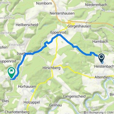 An der Poststraße 12, Heistenbach nach Totenweg 3, Gackenbach