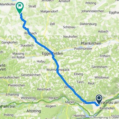 Inntalstraße 24, Kirchdorf am Inn nach Bachham 4A, Reisbach