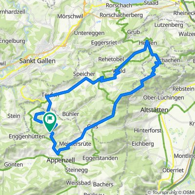 Leimensteigstrasse 50, Appenzell Schlatt nach Dorf 12, Appenzell Schlatt