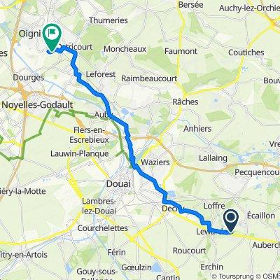 Itinéraire à partir de 4 Rue Vincent Van Gogh, Masny