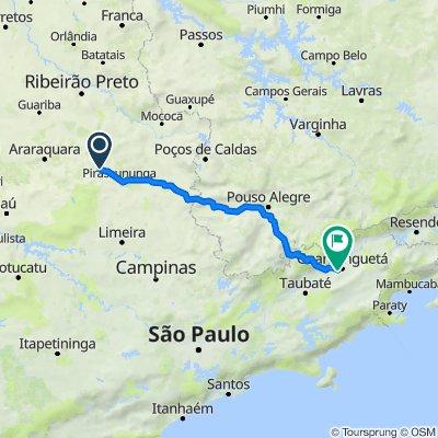 De Rua Pedro Alcântara Camargo 320 a BR-488 251