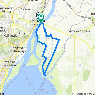 Vila Franca de Xira Lezirias e EVOA
