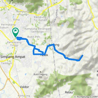 Jalan Rozhan, Permatang Tinggi to Lorong Impian Ria 6, Permatang Tinggi