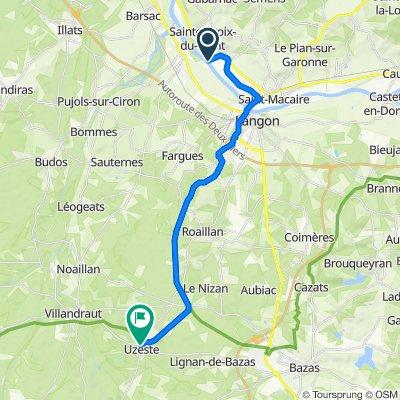 Garonnelle - Uzeste