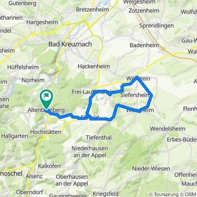 Altenbamberg, Wonsheim, Wöllstein, Frei-Laubersheim, Fürfeld, Altenbamberg