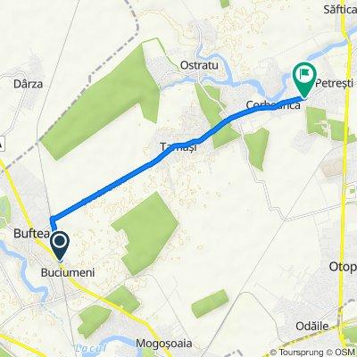 Route to Strada Codrului 2, Corbeanca