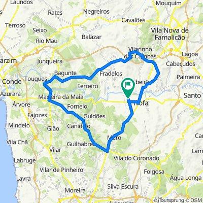 De Rua do Barreiro 8, Bougado-Santiago a Rua do Barreiro 8, Bougado-Santiago