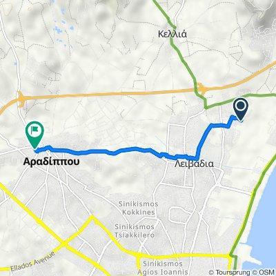 Livadia to Aradippou
