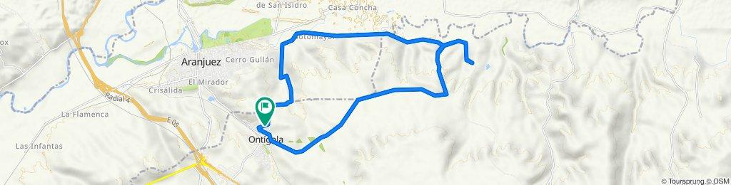 De Calle Júcar 4, Ontígola a Calle Júcar 5, Ontígola