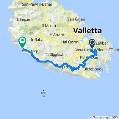 Sqaq il-Merħla, Zejtun to 131, Dingli