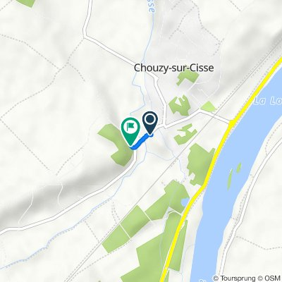 Itinéraire modéré en Chouzy-sur-Cisse
