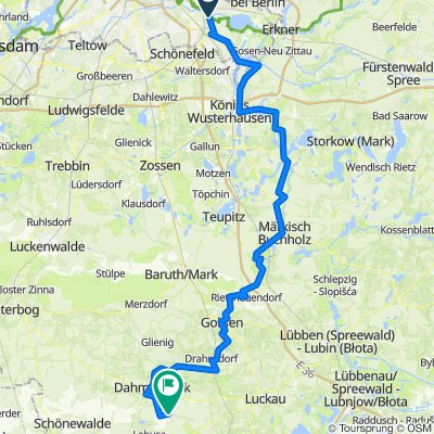 Alt-Köpenick, Berlin nach Unnamed Road, Dahme/Mark