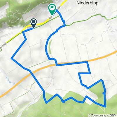 Buchliweg, Oberbipp nach Buchlistrasse 37, Niederbipp