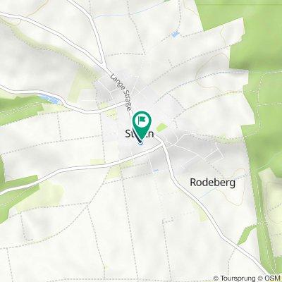 Am Schildchen 31, Rodeberg nach Am Schildchen 31, Rodeberg