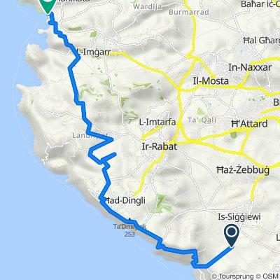 Trasa z Triq tal-Providenza, Siggiewi
