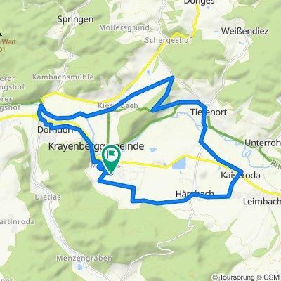 Ernst-Thälmann-Straße 42, Merkers-Kieselbach nach Ernst-Thälmann-Straße 42, Merkers-Kieselbach