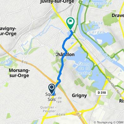 De 1 Avenue de la Forêt, Viry-Châtillon à 108 Avenue du Général de Gaulle, Viry-Châtillon