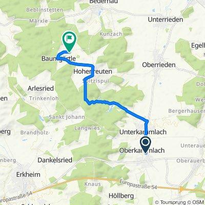 Obere Hauptstraße 29, Kammlach nach Brandstetten 1, Breitenbrunn