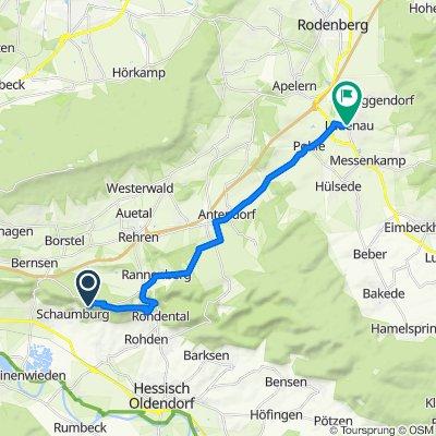 Paschenburg 1, Rinteln nach Marktstraße 1, Lauenau