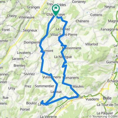 Villaz-Saint-Pierre Cycling