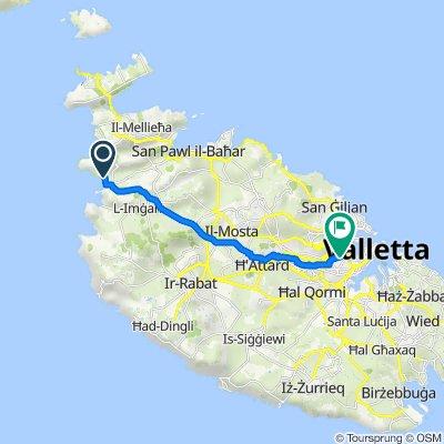 Trasa do Triq ix-Xatt, Pieta